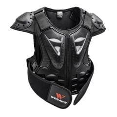 Children Chest Back Spine Protector Vest Gear Kids Motorcycle Armor S