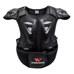 Children Chest Back Spine Protector Vest Gear Kids Motorcycle Armor M