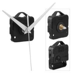 1Set Silent Clock Movement Long White Hands Mechanism Fittings Repair Parts