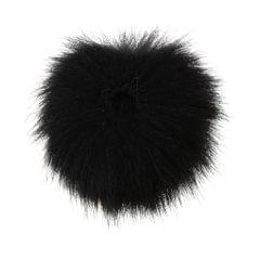 Microphone Furry Windscreen Windshield Muff Mic Furry Cover black