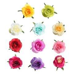10pcs Artificial Silk Rose Flower Head DIY Bouquet Wedding Decor Multi