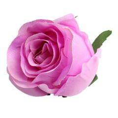 10pcs Artificial Silk Rose Flower Head DIY Bouquet Wedding Decor Dark Pink