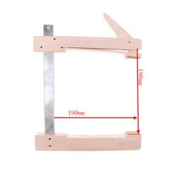 Maple Violin Cello Edge Clamp for Violin Cello Repair Tool 190mm