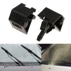 2Pcs Car Windshield Washer Sprayer Nozzle For Nissan QASHQAI I MK1 06-14