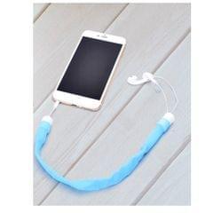 Headphones Organizer Storage Earphones Case Cords Holder Organizer blue