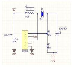 XL6009 Adjustable DC-DC Voltage Boost Module Step Up Converter Power Module