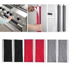 Fridge Handle Covers Door Handlebar Oven Refrigerator Handle Cover Black