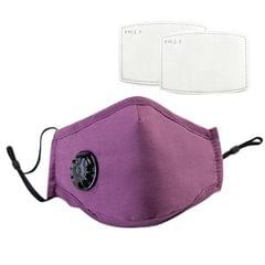 Mouth Cover with 2 Filters Dustproof Respirator with