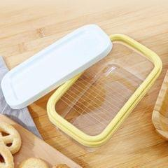 Butter Keeper And Slicer Cutter Storage Container For Bread, Cakes, Cookies