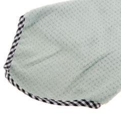 Microfiber Hand Towel Hanging Kids Washcloth Bath Water Dry Light Green