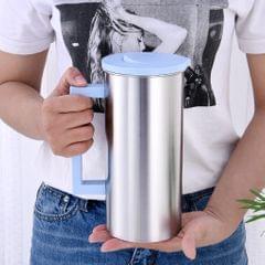 Stainless Steel Water Pitcher Juice Jar Beverage Serving Jugs Blue