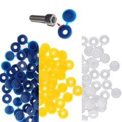 Plastic Hinge hole Cover Caps for Home Furniture Decoration Blue