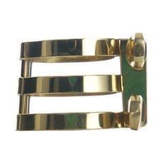 Prof Gold Plated Saxophone Sax Mouthpiece Zinc Alloy Ligature Alto 2 Screws