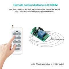1000m Long Range Distance High Power 2CH Wireless Remote
