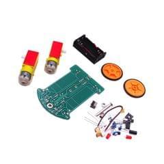 Smart Tracking Robot Car Electronic DIY Kit With Reduction Motor Module