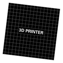 3D Printer Build Plate Tape Square Heat Bed Sticker Accessories 235x235mm