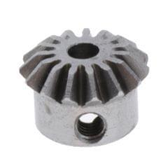 0.8 Modulus Brass Bevel Gear 15 Tooth 3 to 6mm Diameter Hole 3mm Hole  Steel