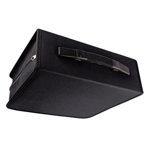 240Disc CD Holder DVD Case Storage Wallet VCD Organizer Black PU Leather Bag