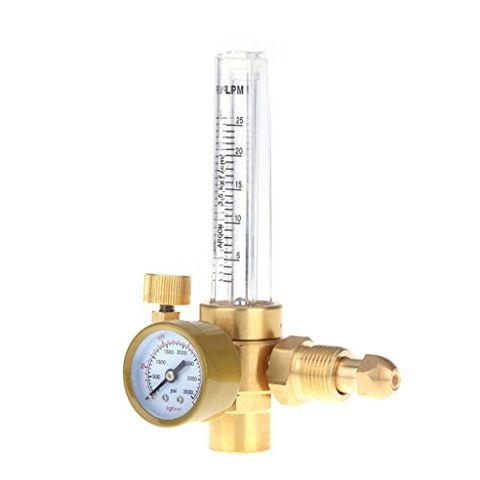 Carbon Dioxide Co2 Pressure Regulator CO2 Control Valve Gas Flow Meter Reducer 0-3500PSI Welding