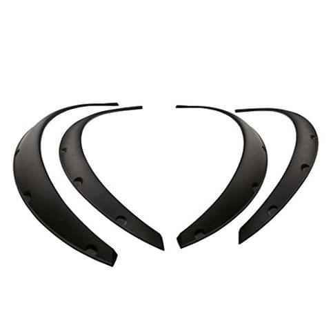 4pcs High Performance Universal Fender Flare Wheel Arch Body Decorations