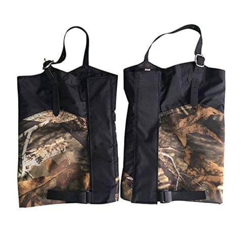 1 Pair Camouflage Outdoor Hiking Camping Hunting Waterproof Snow Legging Gaiters Boot Cover - Short Type