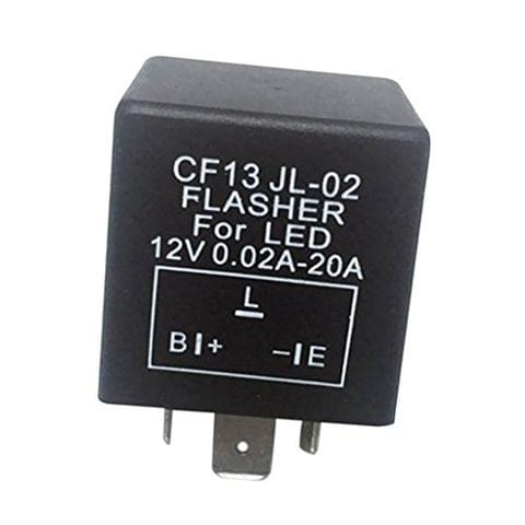 CF13 JL-02 3-Pin LED Flasher Relay for Car Turn Signal Light Flash Fix