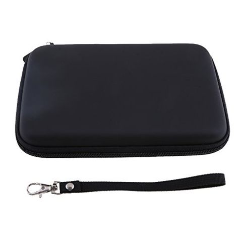 7 inch Hard Shell Carrying Case GPS Bag with USB Cable Car Charger Mesh Pocket GPS Navigation Pouch for 7 inch Garmin Nuvi Tomtom Magella