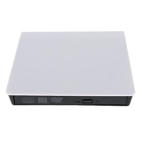 External USB 3.0 DVD RW CD Writer Optical Drive Burner Reader for Laptop PC Notebook White