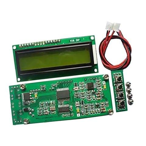 Signal Frequency Counter Cymometer Meter 0.1MHz-1200MHz for Ham Radio Green