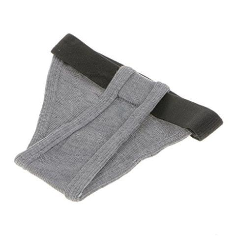 Pet Female Dog Under Clothing Supplies Soft Moisture Breathable Ribbing Classic Physical Pant Sanitary Underwear Grey L