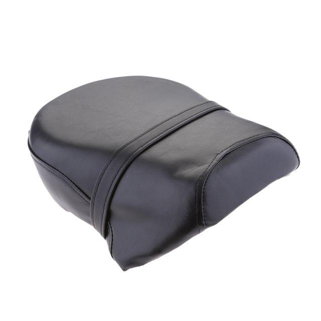 Black Rear Passenger Seat Pillion For Harley Sportster XL 883 1200 2007-2013