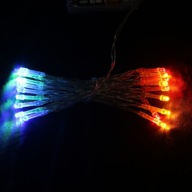 20-LED Battery Operated Christmas Wedding String Fairy Lights 2M Multi-color