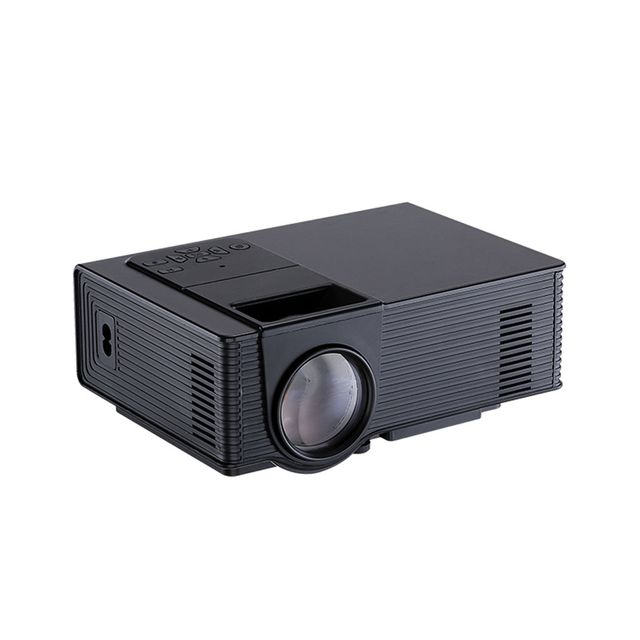 Imported Home Cinema Theater Mini LCD Projector 2000 Lumens 1080P HD