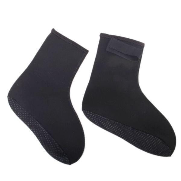 1 Pair of 3mm Thickness Outdoor Water Sports Swimming Feet Scratch Prick Protection Elastic Neoprene Diving Socks XS EU36-37