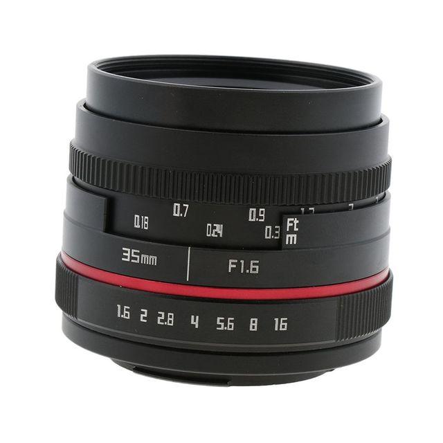 Fixed Prime Lens Portrait F1.6 Aperture 35mm for Fujifilm X-T X-Pro X-E X-M Mirrorless Camera