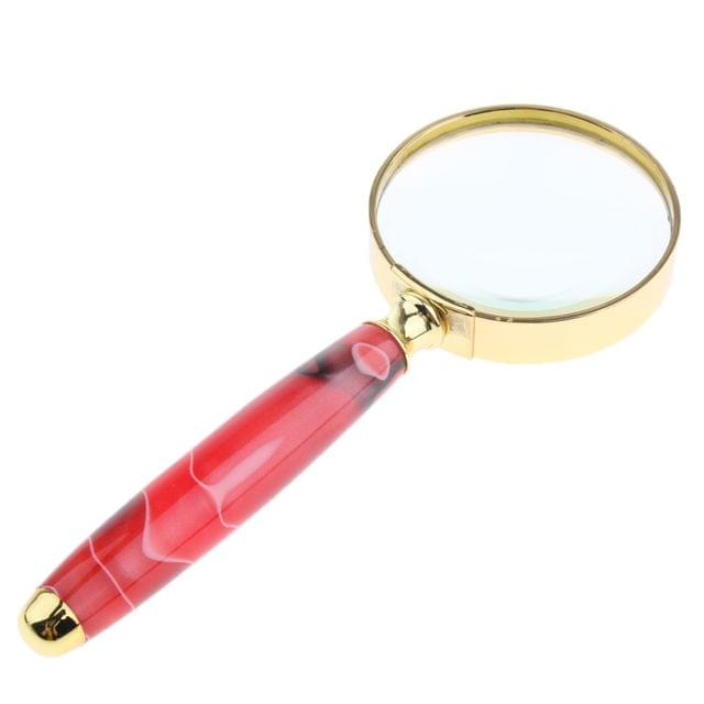 3X Magnifying Glass Eye Magnifier Jewelry Loupe Map Sewing Cloth Watch Microscope Wide Application