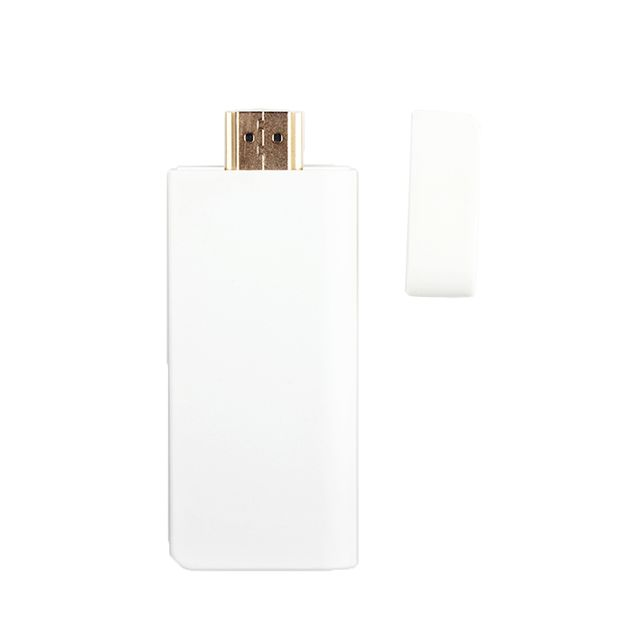 Wecast Smart TV Stick E28 Slim TV dongle for DLNA Miracast Airplay HDMI WiFi Wireless Display Antenna Inbuilt Support YouTube White