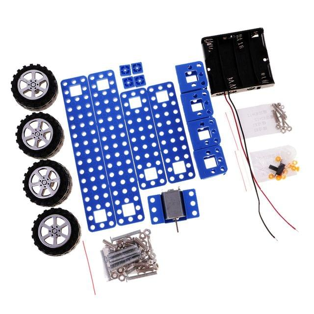 Assemble Car Set Handmade Model Kit Science Educational Toys for DIY Kids