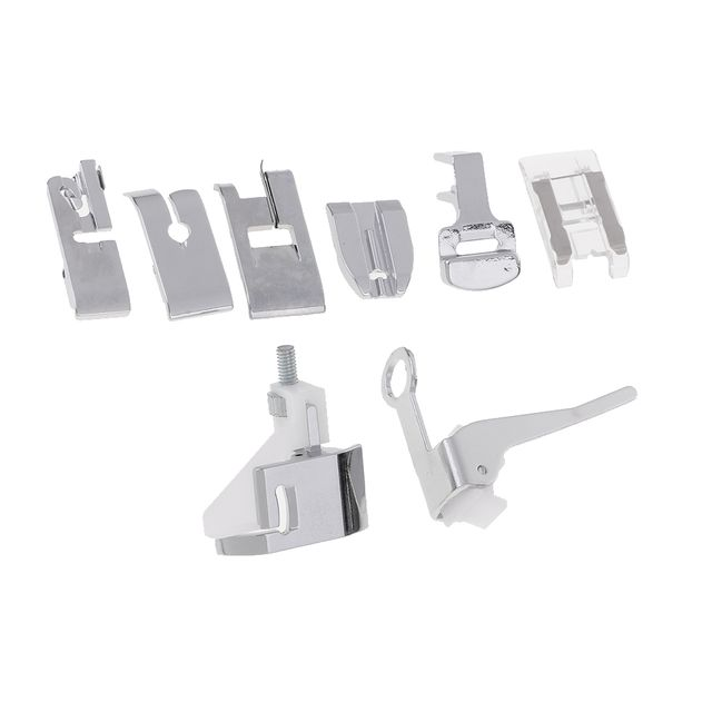 Professional 8 Pieces Multifunction Presser Foot Spare Parts Accessories for Sewing Machine Brother Singer Butterfly