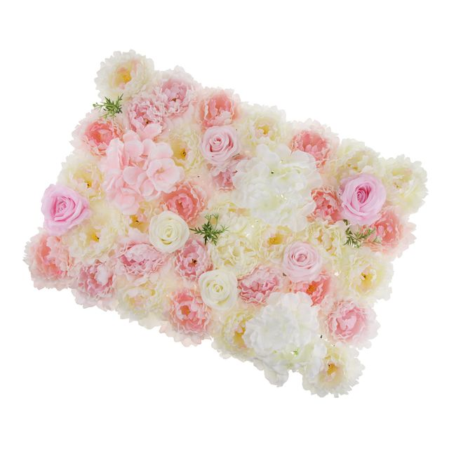 Artificial Flower Wall Panel Hanging Rose Peony Wedding Background