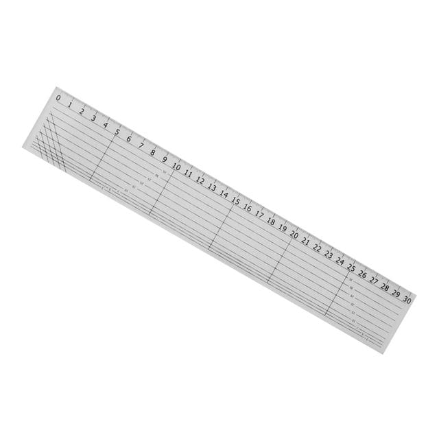 30cm Acrylic Quilt Ruler for Patchwork Quilting Sewing Crafts Tool