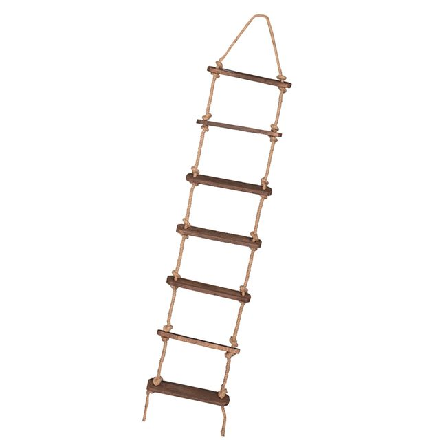 Rustic Style Ladder Rope Photo Prop Wedding Cafe Home Party Decoration
