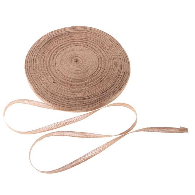 Vintage Jute Hessian Ribbon Wedding Floristry Cloth Art DIY Craft 100mx1.5cm