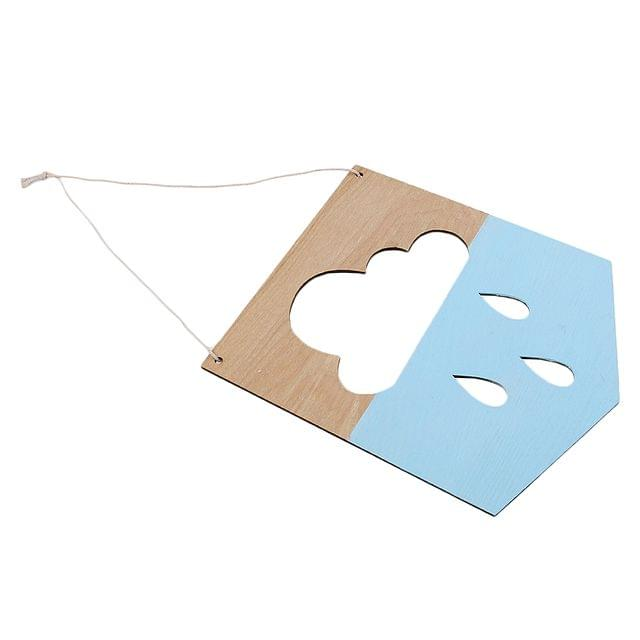 Rustic Wooden Hanging Sign Wall Plaque Gift Craft for Kid Room