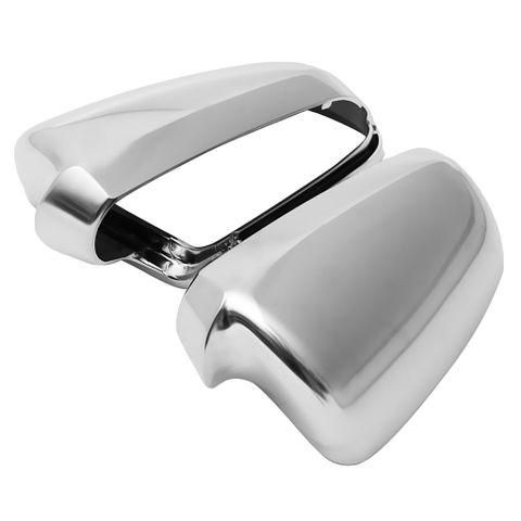 High Quality 2Pcs Chrome Side Mirror Cap Housing Cover Case