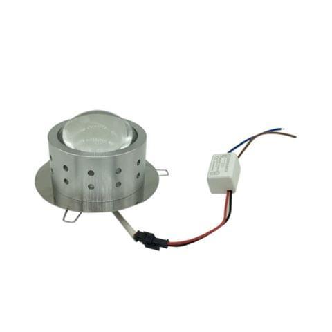 3W LED 85-265V Aluminum Ceiling Down Recessed Light Lamp Bulb Spotlight Warm White Home Room