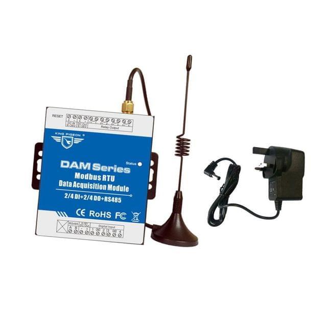 DAM104 Modbus RTU Data Acquisition Module Relay Output Module UK Standard