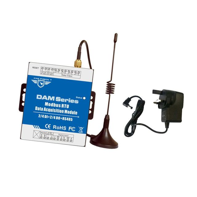 DAM106 Series Digital Modbus RTU Data Acquisition Module Relay UK Standard