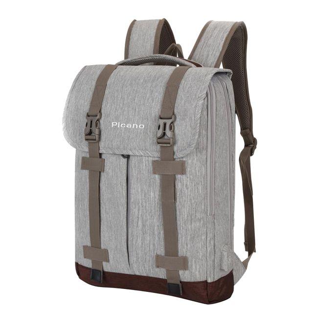 Waterproof Laptop Backpack Travel Bag School Bookbag Rucksack w/USB Port