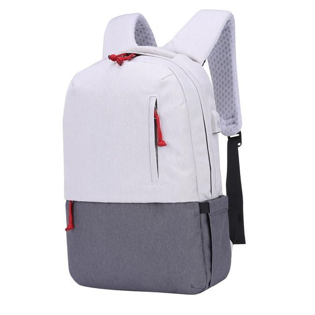"Anti-theft Backpack Laptop Shoulder Bag w/ USB Port For 15.6"" Mac Book& ipad"